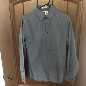 Mens Express button down dress shirt